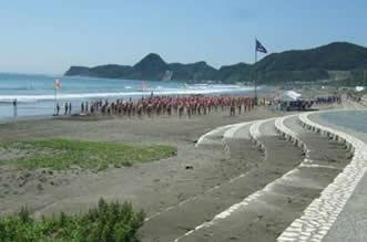 「子どもの海」岩井海岸