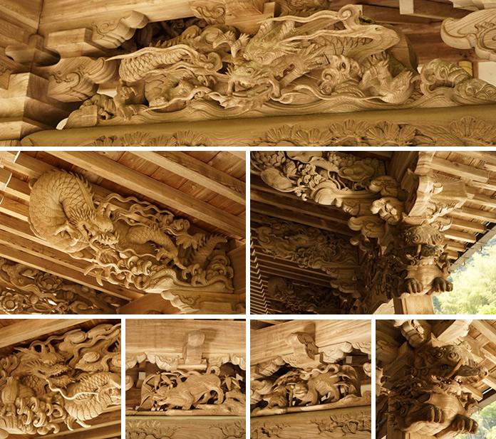 初代後藤義光の彫刻