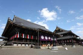 東本願寺 阿弥陀堂と御影堂