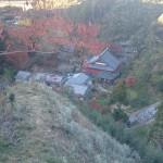 「飛び石」から境内鳥瞰大井久之撮影
