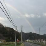 国道127号線を右折し県道89号線に入り、思わず車を止め撮影しました。