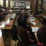 『歎異抄白日抄』をテキストに副住職が講師を務めました。